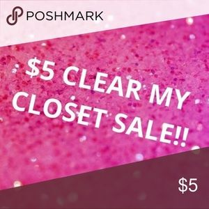 Tons of $5 items!